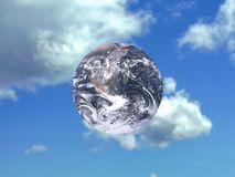 Terra pacifica Fotografia Stock Libera da Diritti