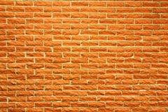Terra - parede de tijolo do cotta fotos de stock