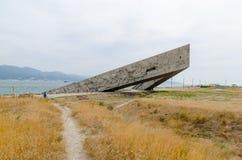 Terra pequena memorável Novorossiysk Foto de Stock