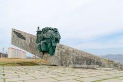 Terra pequena memorável Novorossiysk Foto de Stock Royalty Free