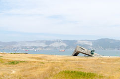 Terra pequena memorável Novorossiysk Imagem de Stock Royalty Free