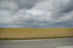 Terra Ploughed Foto de Stock