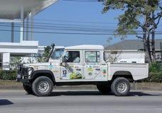 Terra privada velha Rover Truck fotos de stock