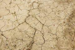 Terra quebrada Foto de Stock Royalty Free