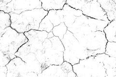 Terra rachada da textura da terra seca da seca do solo Fotografia de Stock