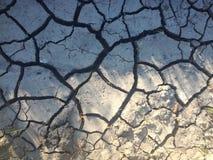 Terra rachada e aquecimento global Imagens de Stock