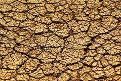 Terra rachada seca foto de stock