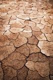 Terra rachada seca Imagem de Stock Royalty Free