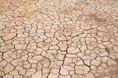 Terra rachada, textura de Crecked Imagem de Stock Royalty Free