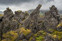 Terra rochosa Foto de Stock