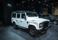 Terra Rover Defender fotos de stock royalty free