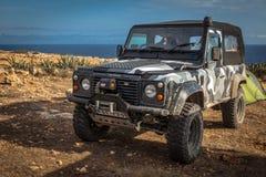 Terra Rover Defender Foto de Stock