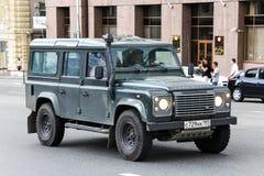 Terra Rover Defender imagem de stock royalty free