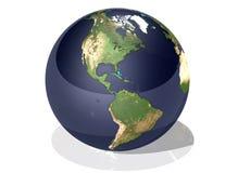 Terra S.U.A. Fotografia Stock Libera da Diritti