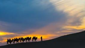 Terra Santa Ejina di Huyang immagine stock
