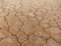 Terra seca e rachada Fotografia de Stock