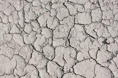 Terra seca nas quebras Fotografia de Stock