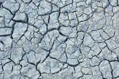 Terra seca rachada Imagem de Stock Royalty Free