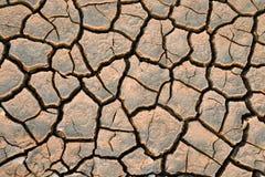 Terra secada Foto de Stock Royalty Free