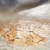 Terra seccata Fotografia Stock Libera da Diritti