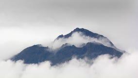 Terra sopra le nuvole Fotografia Stock