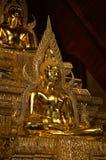Terra tailandesa da estátua da Buda Imagem de Stock