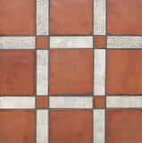 Terra - telhas do cotta Imagem de Stock Royalty Free