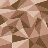 Terra Tone Polygon Technology Vetora Background Imagens de Stock