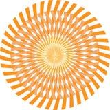 Terra Tone Polygon Technology Vetora Background Fotografia de Stock Royalty Free