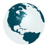 Terra trasparente Immagini Stock Libere da Diritti