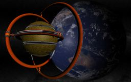 Terra trovata straniero Immagine Stock Libera da Diritti