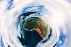 Terra variopinta dettagliata Fotografia Stock Libera da Diritti