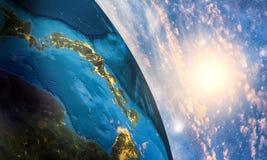Terra variopinta dettagliata Immagini Stock Libere da Diritti