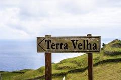 Terra Velha, Azoren, Portugal lizenzfreie stockfotos