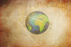 Terra velha do planeta Fotos de Stock Royalty Free