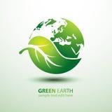 Terra verde Fotografia de Stock