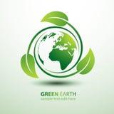 Terra verde Imagem de Stock Royalty Free