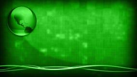 Terra verde del fondo di affari illustrazione vettoriale