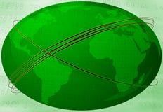 Terra verde del pianeta Fotografie Stock