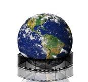 Terra verde e película Fotografia de Stock Royalty Free