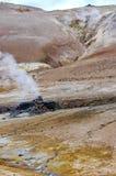 Terra vulcanica Immagini Stock