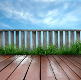 Terrace Royalty Free Stock Photography