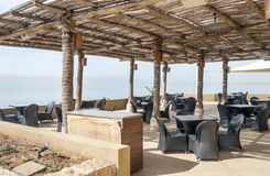 Terrace on Dead sea Royalty Free Stock Image
