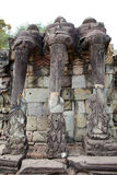 Terrace of the elephants Stock Photography