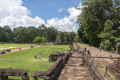 Terrace of the Elephants, Angkor Wat, Cambodia Royalty Free Stock Images