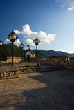 Terrace of the Fortress - Brasov Stock Images