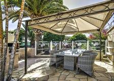 Free Terrace Garden Stock Photography - 54067982