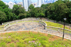 Terrace Garden In Telok Blangah Hill Park Royalty Free Stock Images