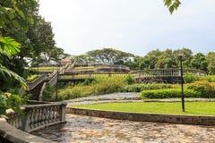 Terrace Garden in Telok Blangah Hill Park Stock Photo