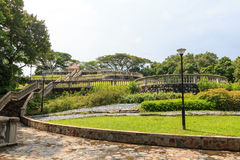 Terrace Garden in Telok Blangah Hill Park Royalty Free Stock Photos